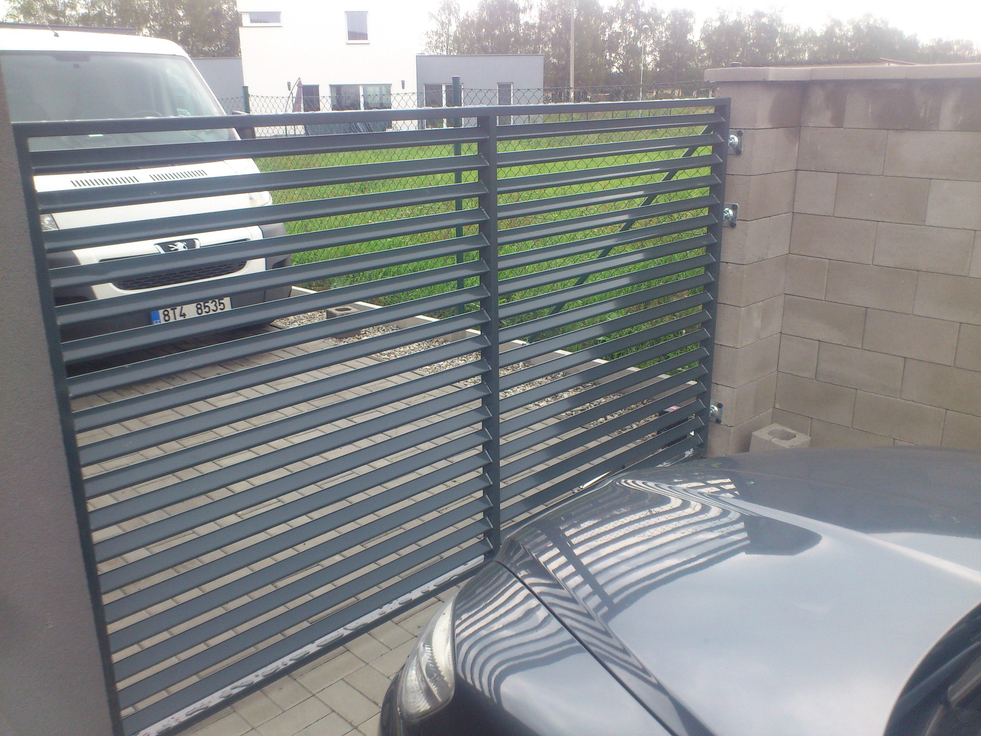 Ocelová brána - Ocelové konstrukce Ostrava - JR Steel
