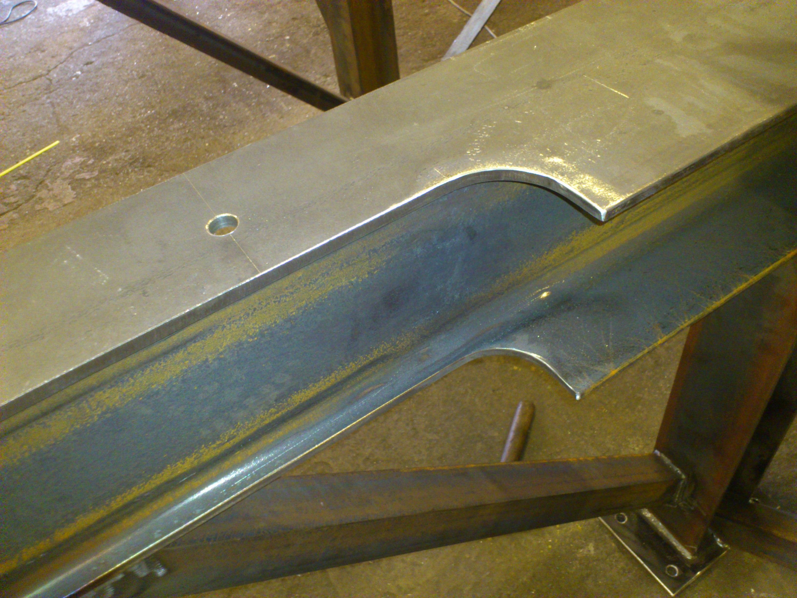 Výrobní linka - Ocelové konstrukce Ostrava - JR Steel