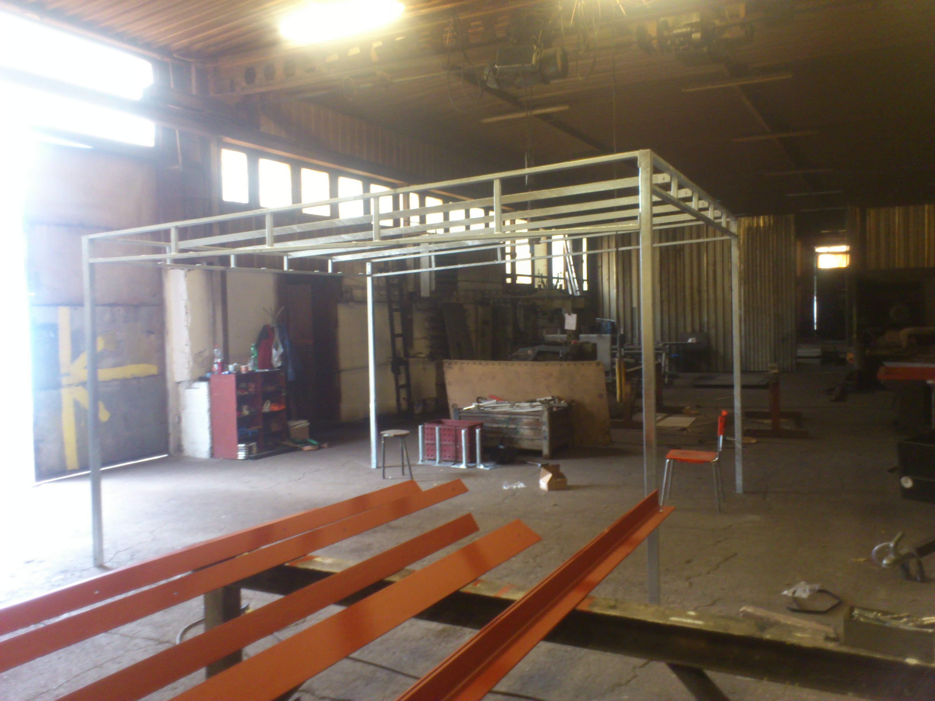 Ocelové výrobky - Ocelové konstrukce Ostrava - JR Steel