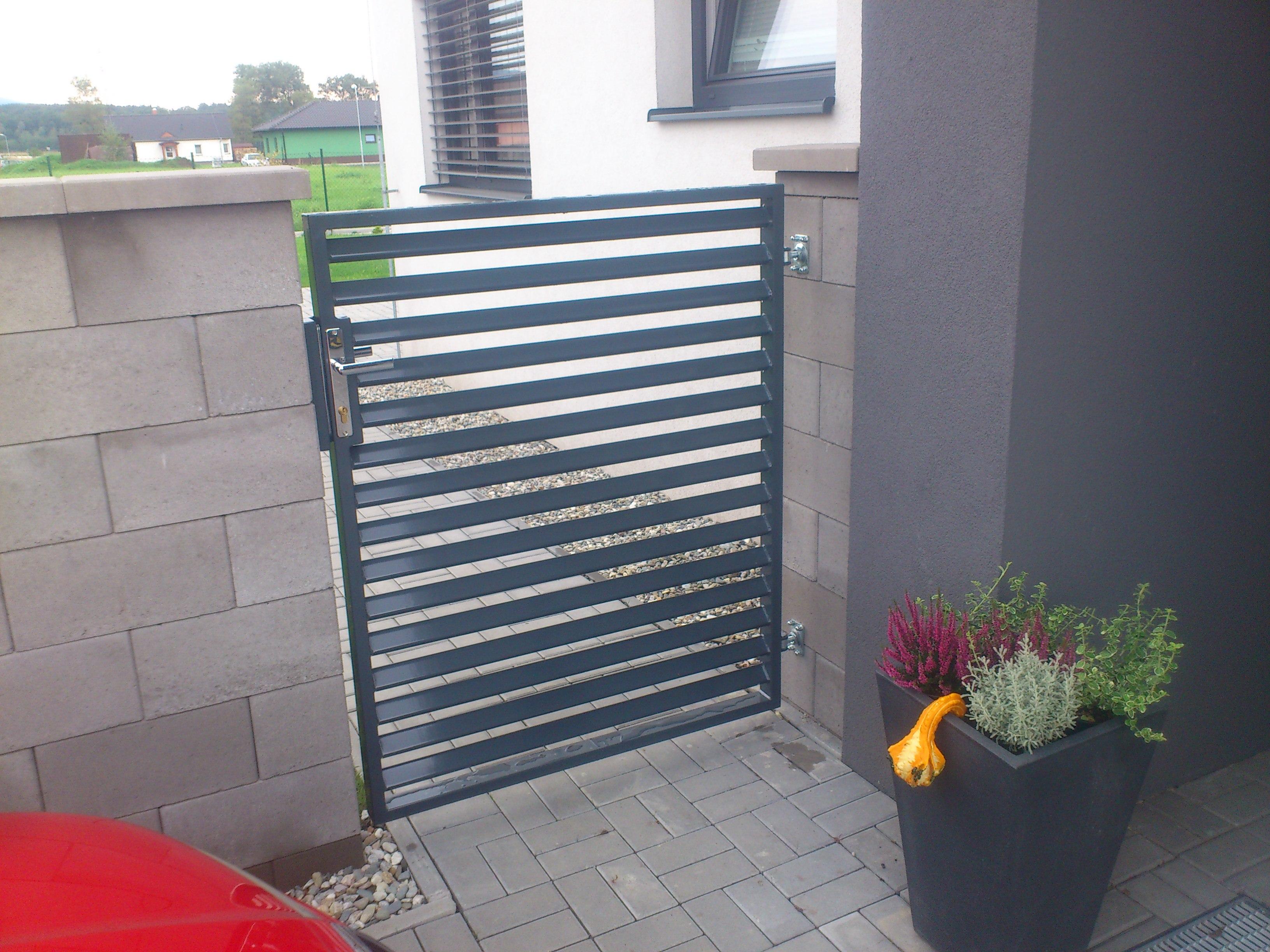 Ploty a brány - Ocelové konstrukce Ostrava - JR Steel