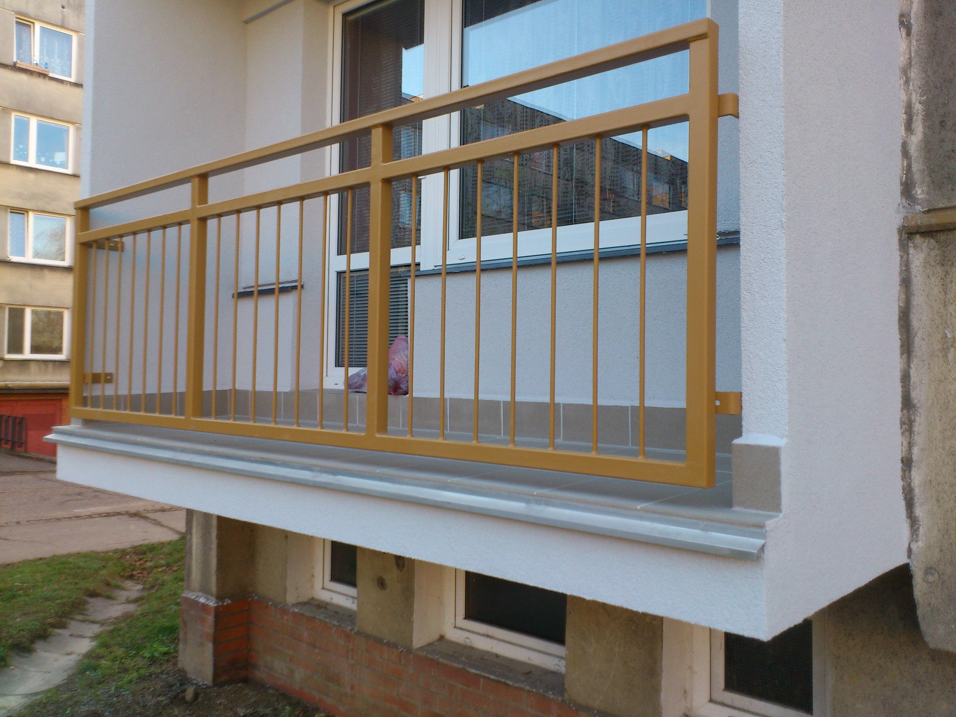Balkony Ocelové konstrukce Ostrava