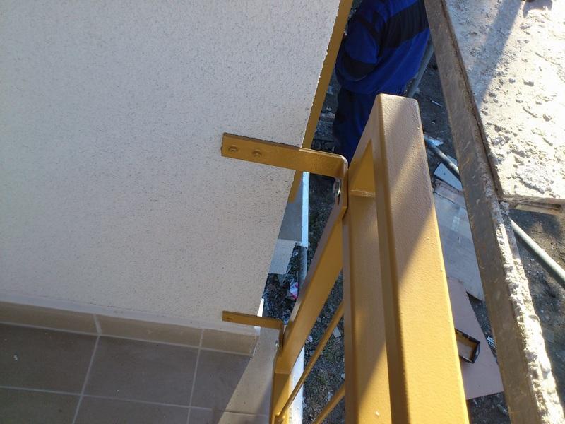 Balkony Ocelové konstrukce
